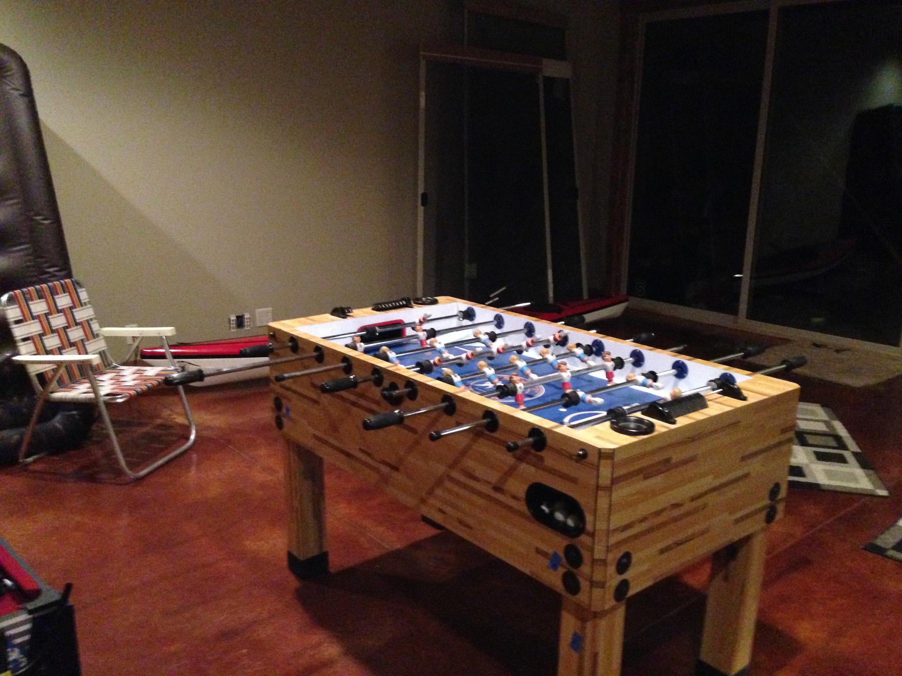 Recreation Room - Foozball Table
